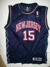 Brooklyn+New+Jersey+Nets+#15+Carter+NBA+linne:+M