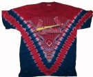 St.Louis+Cardinals+Batik+T-Shirt+MLB+Baseball:+XL