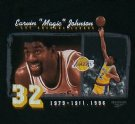 LA+Lakers+#32+Magic+Johnson+NBA+Basket+T-Shirt:+XL