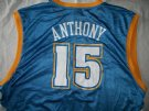 Denver Nuggets #15 Anthony NBA Basket linne: XXL