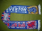 EVERTON + GLASGOW RANGERS::: Halsduk::: Blue Army