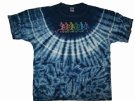 Grateful Dead T-Shirt batik Dancing Bears: XL