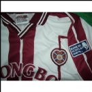 Hearts of Midlothian FC Matchförberedd tröja Bank of Scotland