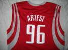 Houston Rockets #96 Artest NBA Basket linne PRO: L+