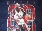 Houston Rockets NBA T-Shirt #22 Clyde Drexler: L