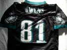 Philadelphia Eagles #81 Owens NFL On-Field Matchtröja: S