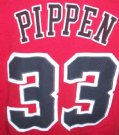 Chicago+Bulls+#33+Pippen+NBA+Basket+T-Shirt:+L