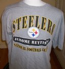 Pittsburgh+Steelers+#36+Bettis+NFL+T-Shirt:+XL