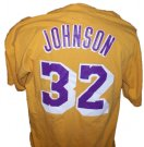 Los+Angeles+Lakers+#32+Magic+Johnson+NBA+Basket+T-Shirt:+XL