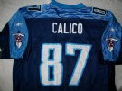 Tennessee Titans #87 Calico NFL On-Field tröja: XL