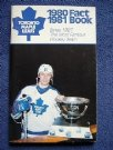 Toronto Maple Leafs 1980-81 Fact Book
