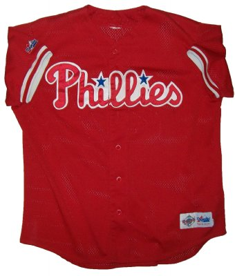 Philadelphia+Phillies+#27+MLB+Baseball+Skjorta:+XL