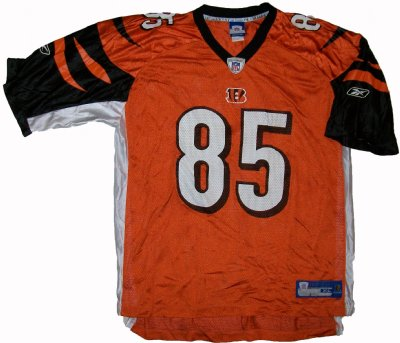 Cincinnati+Bengals+#86+C.Johnson+NFL+On-Field+tröja:+XL