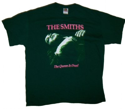 Smiths+Queen+is+dead+T-Shirt:+XL