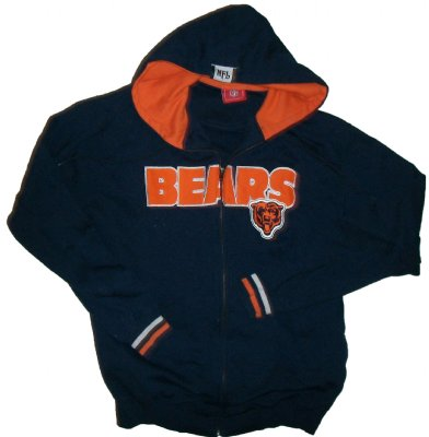 Chicago+Bears+Hooded+Sweater+NFL:+M+