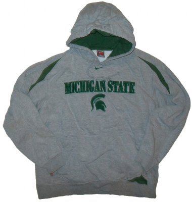 Michigan+State+Spartans+Hooded+Sweater+NCAA:+M