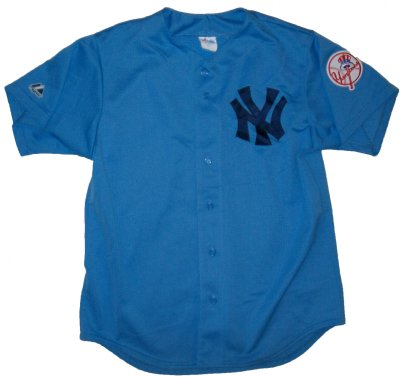 New+York+Yankees+#2+MLB+Baseball+skjorta:+L