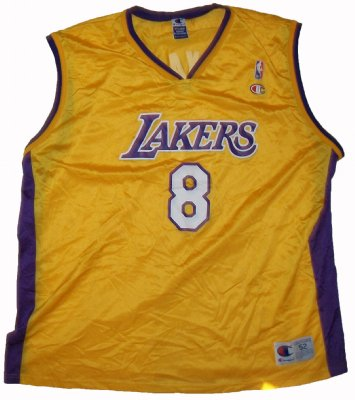 LA+Lakers+#8+Bryant+NBA+Basket+linne:+XXL
