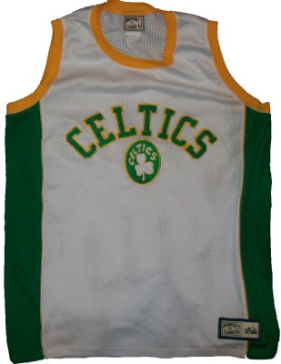 Boston+Celtics+Retro+NBA+Basketlinne+PRO:+XL