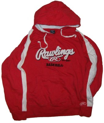 Hooded+Sweater+Rawlings+Baseball:+M+