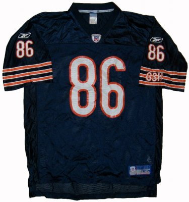 Chicago+Bears+#86+Booker+NFL+On-Field+Matchtröja:+XL