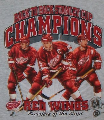 Detroit+Red+Wings+Keepers+of+the+Cup+NHL+T-Shirt:+L