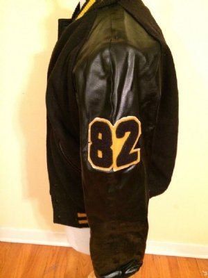 Jacka+#82+College+Letterman:+M