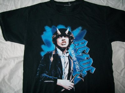 "AC DC ""Highway to Hell"" T-Shirt: S"