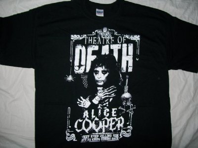 "Alice Cooper ""Theatre of Death"" T-Shirt: XL"