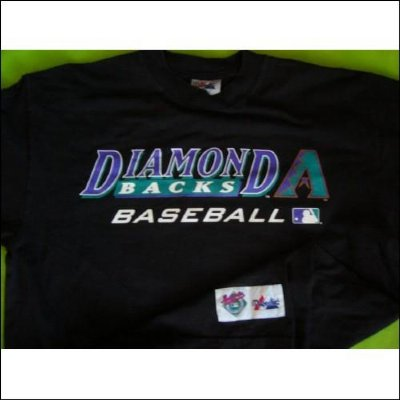 Arizona Diamondbacks Spelar T-shirt MLB Baseball: L+