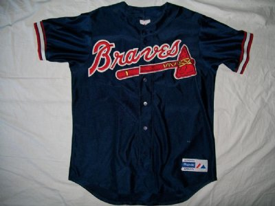 Atlanta Braves MLB Baseball skjorta: L