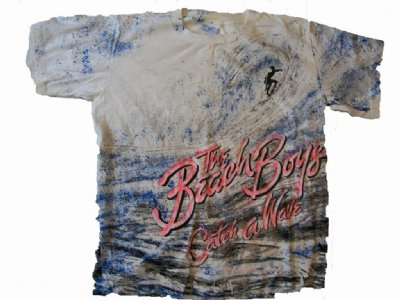 Beach Boys California Surfing Vintage T-Shirt: L
