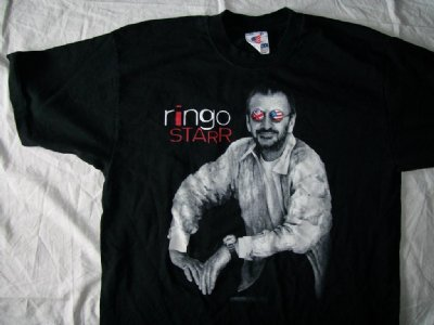 Beatles Ringo Starr T-Shirt: XL