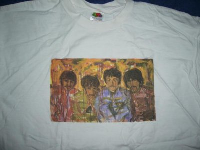 Beatles tröja Art XL