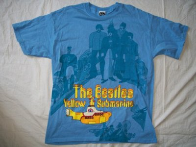 Beatles Yellow Submarine T-Shirt: L