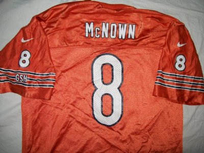 Chicago Bears #8 McNown NFL Football tröja 3rd: M