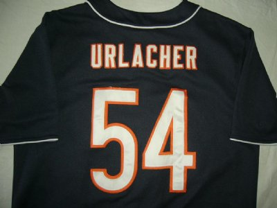 Chicago Bears NFL skjorta #54 Urlacher: L