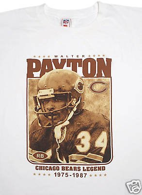 Chicago Bears tröja Legend #34 Payton: M