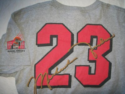 Chicago Bulls #23 Jordan´s Restaurant T-Shirt: M
