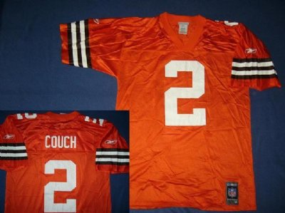 Cleveland BROWNS: Football NFL tröja 3rd orange #2 Couch: M