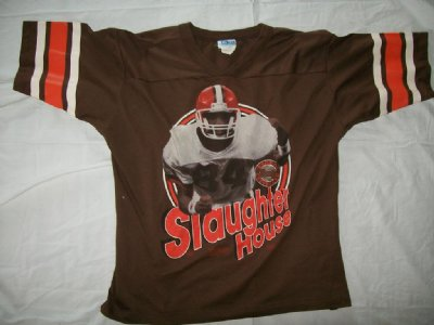 Cleveland Browns Slaughter House: L