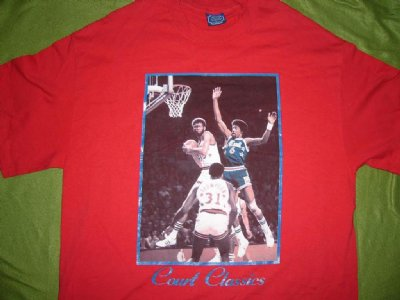 Court Classics T-Shirt 70-tal NBA: XL