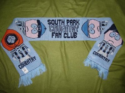 Coventry City FC: Halsduk: South Park