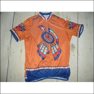 Cykeltröja USA: Aztec Indian Inca XXL