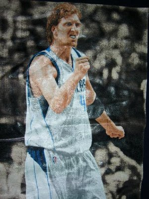 Dallas Mavericks #41 Nowitzki tröja NBA: S