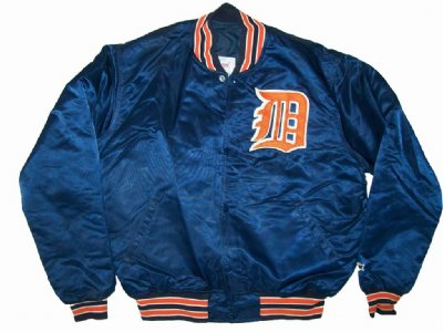 Detroit Tigers MLB Baseball jacka: XL