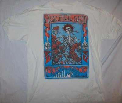 Grateful Dead Avalon Ballroom T-Shirt: XL