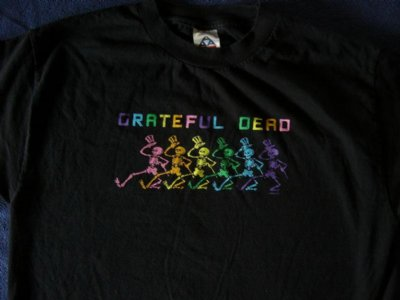Grateful Dead T-Shirt Dancing Skeletons: M