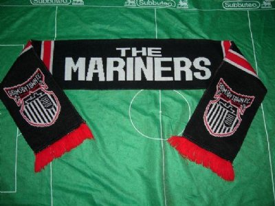 Grimsby Town FC:::Halsduk:::The Mariners