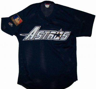 Houston Astros 124th Ann. MLB Baseball skjorta: M